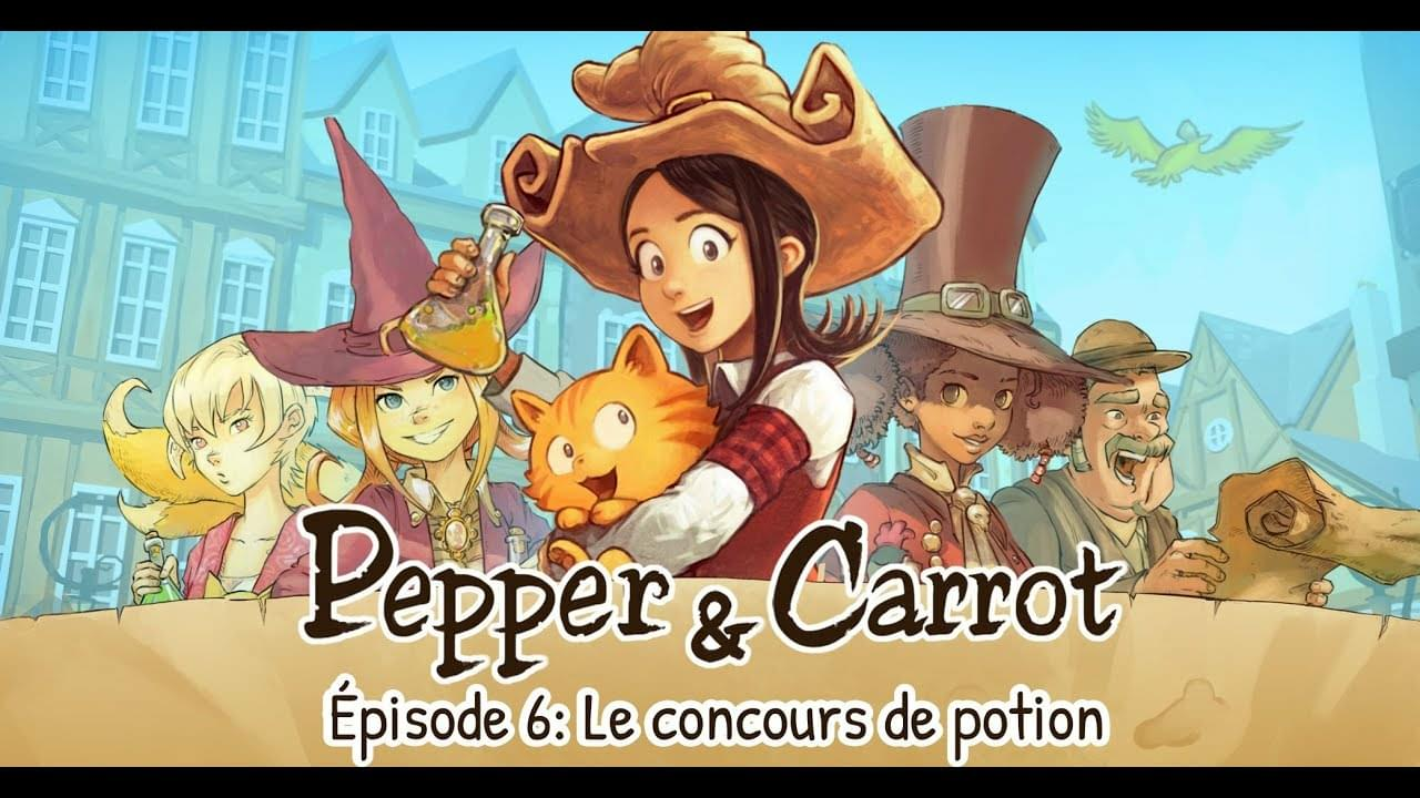Pepper & carrot - épisode 6